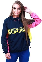 Superdry Navy / Pink / Yellow Chroma Overhead
