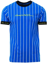 Kings Will Dream Cobalt Clifton Pinstripe T-Shirt