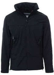 Superdry Black Cliff Hiker Hybrid Jacket