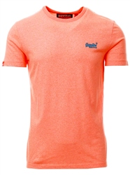 Superdry Fluro Orange Grit Orange Label Fluro Grit T-Shirt