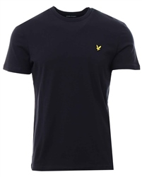 Lyle & Scott Black Plain T-Shirt