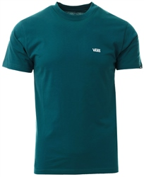Vans Green Left Chest Logo T-Shirt