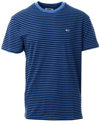 Hilfiger Denim Dutch Blue / Black Iris Tommy Classic Stripe T-Shirt