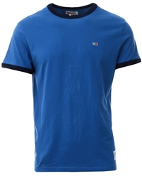 Hilfiger Denim Dutch Blue / Black Iris Logo Organic Cotton T-Shirt