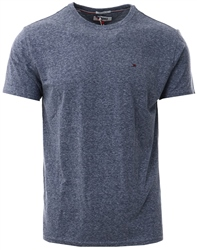 Hilfiger Denim Black Iris Essential Cotton Blend T-Shirt