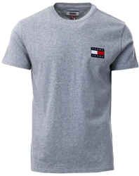 Hilfiger Denim Light Grey Logo Patch T-Shirt