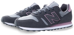 New Balance Grey 373 Lace Up Trainer