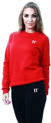 11degrees Ski Patrol Red Core Sweatshirt