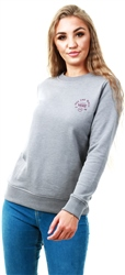 Vans Grey Heather Attendance Crew Sweater