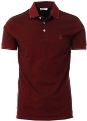 Selected Red Organic Cotton - Polo Shirt