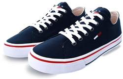 Tommy Jeans Midnight Cotton Classic Trainers