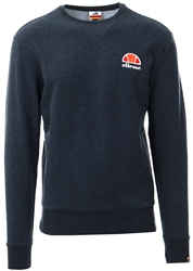 Ellesse Dark Grey Marl Diveria Crew Sweat
