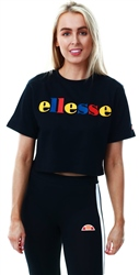 Ellesse Black Ralia Oversized T-Shirt