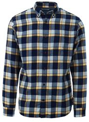 Brown / Fall Leaf Checked Shirt by Jack & Jones