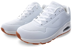 Skechers White Uno Stand On Air Trainer