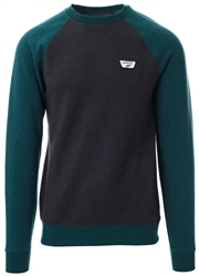 Vans Asphalt Heather Rutland Iii Crew Sweater