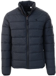 Jack Wills Charcoal Kerhsaw Lightweight Puffer