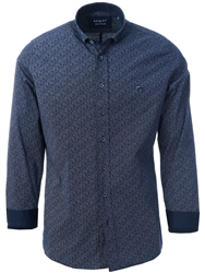 Bewley & Ritch Black Steven Long Sleeve Shirt