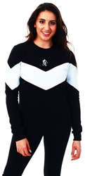 Gym King Black Gk Ferry Crew Sweatshirt