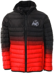 Kings Will Dream Black/Red Abasi Ombre Jacket
