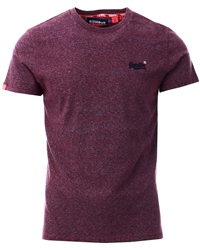 Superdry Creek Red Vintage Embroidery T-Shirt
