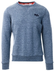 Superdry Blue Orange Label Crew Sweatshirt
