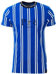 Pre London Blue/White Stripe T-Shirt