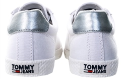 Tommy Jeans White Casual Lace Up Sneaker