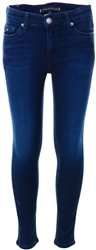 Hilfiger Denim Jog Blue Stretch Skinny Fit Stretch Cotton Jeans