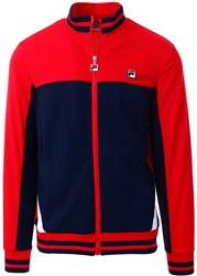 Fila Chinese Red / Peacoat / White Tiebreaker - Track Jacket