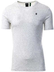 Gstar White Heather Daplin T-Shirt