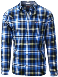 Hilfiger Denim Aspen Gold Organic Cotton Check Shirt
