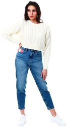 Tommy Jeans Tj America Mid Bl Co Tj 2004 Mom Fit Americana Jeans