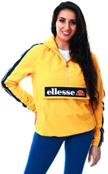 Ellesse Yellow Marnia Half Zip Jacket