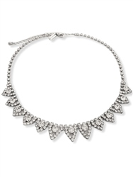 Re Born Sliver Ornate Rs Collar Necklace