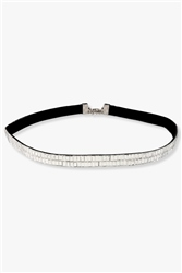 Re Born Mty Rs Baguette Stone Choker