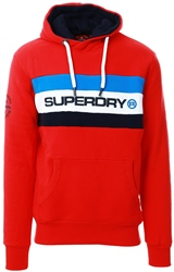 Superdry Rouge Red Trophy Classic Hoodie