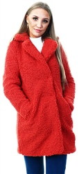 Noisy May Tandori Spice Teddy Coat