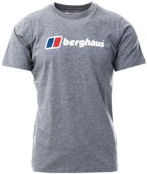 Grey Big Corporate Logo Tee by Berghaus