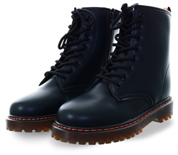 No Doubt Black Lace Up Boot