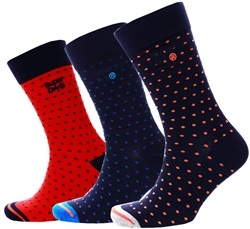 Superdry Polka Dot City Sock Triple Pack