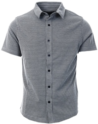 Métissier Paris Black/White Forres Short Sleeve Shirt