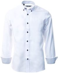 Ottomoda White Button Down Shirt