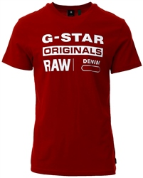 Gstar Dark Baron Graphic 8 T-Shirt