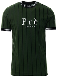 Pre London Green Power Pinstripe Tee