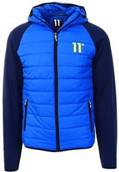 11degrees Cobalt/Navy Neoprene Hybrid Jacket