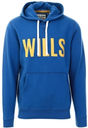 Jack Wills Deep Blue Stokeford Graphic Hoodie