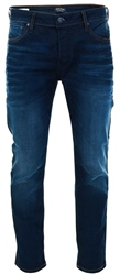 Jack & Jones Blue / Blue Denim Tim Original Jos 719 Slim Fit Jeans