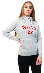 Jack Wills Grey Marl Redhill Pop Over Hoodie