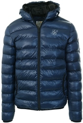 Siksilk Navy Atmosphere Jacket